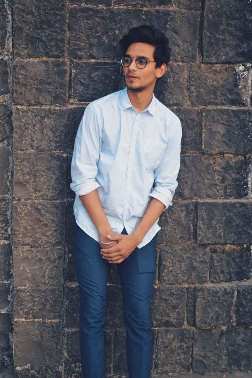 men s white button up dress shirt