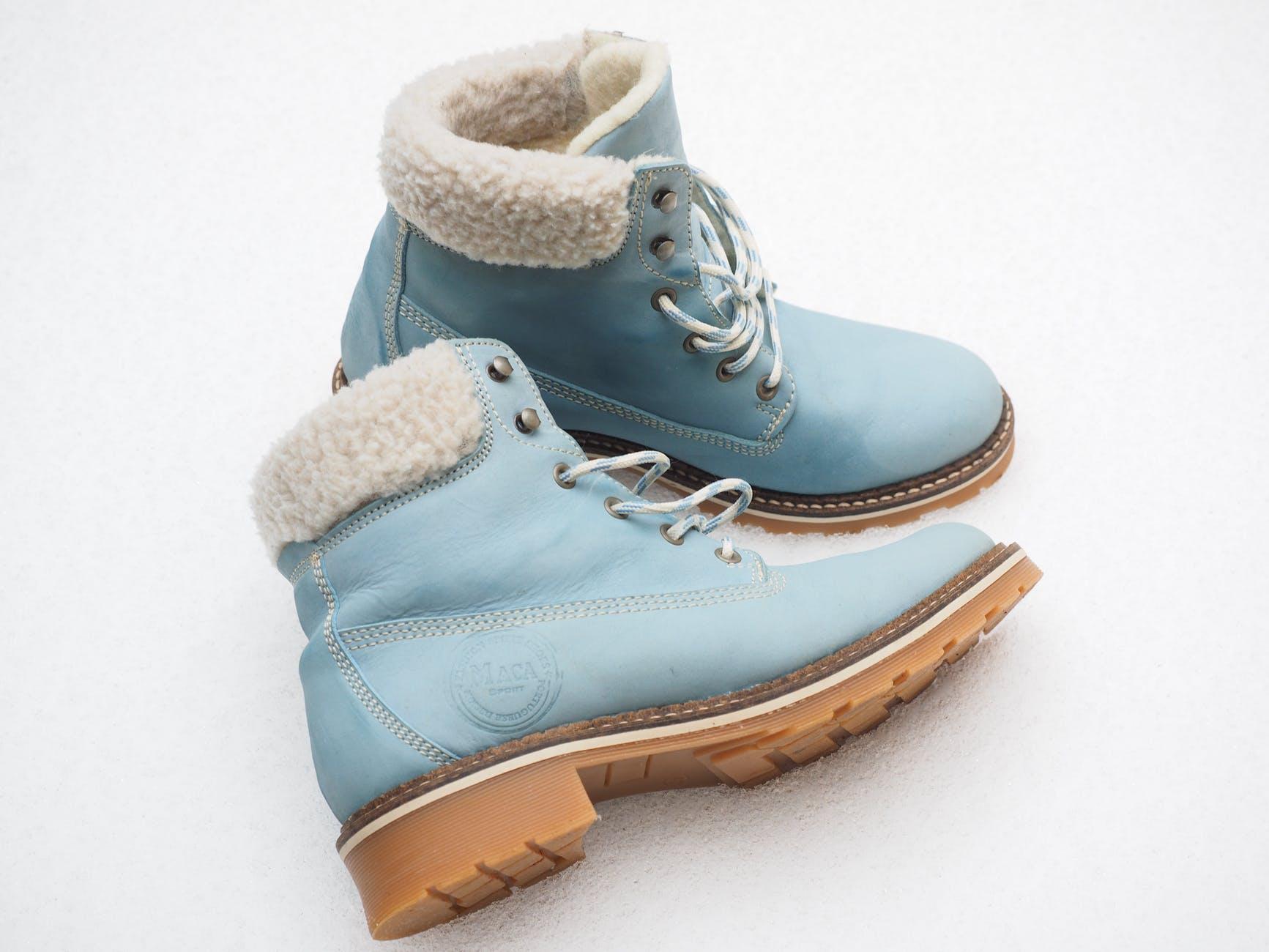 blue boots classic comfort