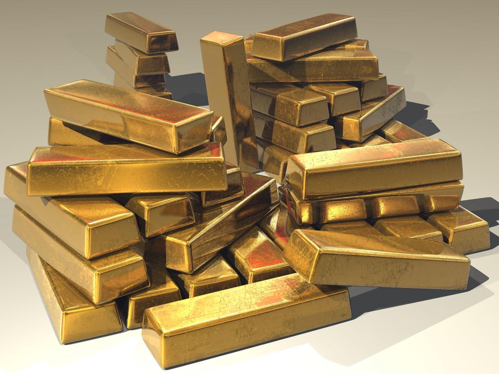 bullion gold gold bars golden