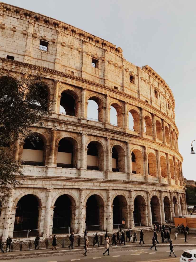 colosseum ruin