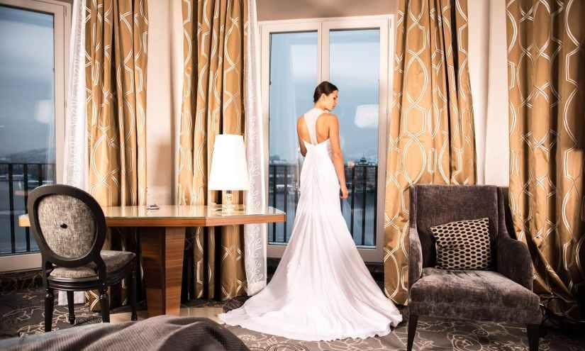 apartment bed bedroom bride