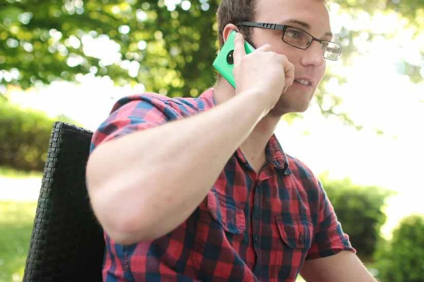 communication male man mobile phone