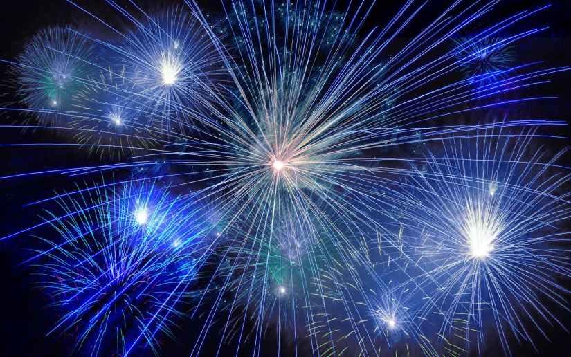 light new year s eve fireworks sylvester